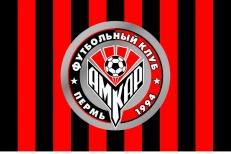 "Флаг ""ФК Амкар"" г. Пермь фото"