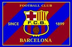 """Флаг """"FC Barselona-2"""" фото"""