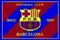 "Флаг ""FC Barselona-2"" фотография"