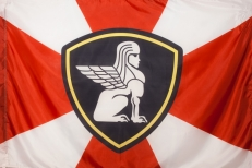 """Флаг """"Внутренние Войска"""" """"Западное Региональное Командование"""" фото"""