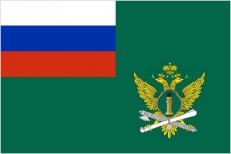 Флаг Судебных приставов (на сетке) фото