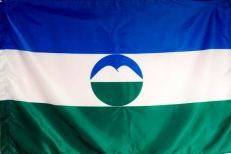 Флаг Республики Кабардино-Балкария фото