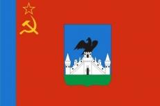 Двухсторонний флаг Орла фото