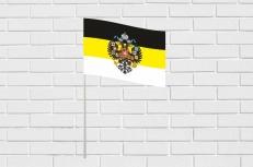 Флажок Имперский флаг с гербом в машину с присоской фото