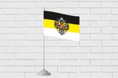 Флажок настольный Имперский с гербом фото