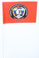 Флажок на палочке «17 отряд спецназа ВВ Эдельвейс» фото
