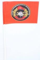 Флажок на палочке «30 отряд спецназа ВВ Святогор» фото