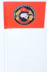 Флажок на палочке «33 отряд спецназа ВВ Пересвет» фото