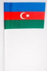 Флажок на палочке «Азербайджан» фото