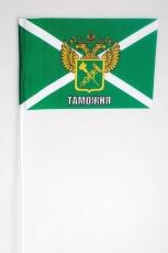 Флажок на палочке «Таможня России с гербом» фото