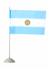 Флажок настольный Аргентина фото