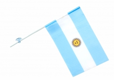Флажок в машину с присоской Аргентина фото