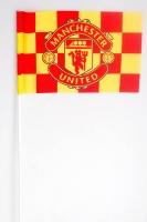 Флажок на палочке ФК «Манчестер Юнайтед»