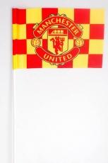 Флажок на палочке ФК «Манчестер Юнайтед» фото