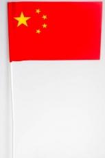 Флажок Китая на палочке фото