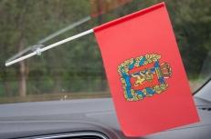 Флажок Красноярского края с присоской фото