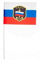 Флажок на палочке «ОМОН МВД» фото