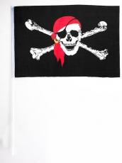 Флажок на палочке Пиратский фото