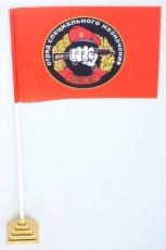 Флажок настольный Спецназа ВВ 23 ОСН Оберег (Мечел) фото