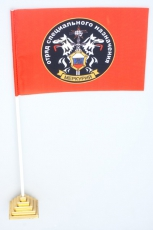 """Флажок настольный Спецназа ВВ """"25 ОСН Меркурий"""" фото"""