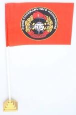 Флажок настольный Спецназа ВВ 30 ОСН Святогор фото