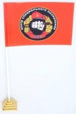 """Флажок настольный Спецназа ВВ """"604 ЦСН"""" фото"""