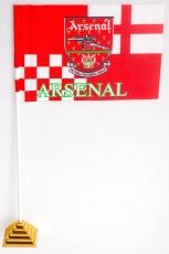 Флажок настольный «FC Arsenal» (Арсенал) фото