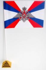 Флажок настольный «Флаг министерства обороны» фото