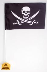 Флажок настольный Пиратский «с саблями» фото