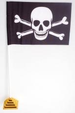 """Флажок настольный """"Пиратский"""" фото"""