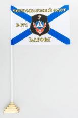 Флажок настольный Б-871 «Алроса» ЧФ фото