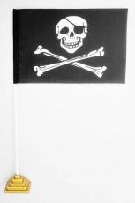 Флажок настольный Пиратский «С повязкой» фото