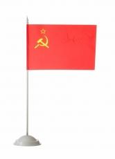 Флажок настольный СССР фото