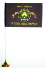 Настольный флаг Танковых войск фото