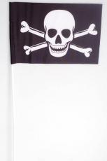Флажок на палочке «Пиратский с костями» фото