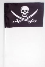 Флажок на палочке «Пиратский с саблями» фото