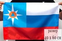 """Флаг """"МЧС"""" триколор"""