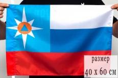 "Флаг ""МЧС"" триколор фото"