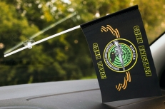 Флажок в машину с присоской Снайпер «Черные береты» фото