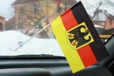 Флажок в машину с присоской Германия фото