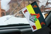 Флажок в машину с присоской Имперка Локомотив