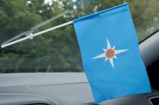 Флажок в машину с присоской МЧС Чистый фото