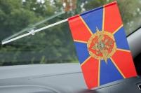 Флажок в машину с присоской МВД РФ