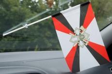 Флажок в машину с присоской Обустройства войск фото
