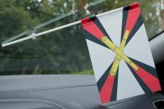 Флажок в машину с присоской РВиА фото