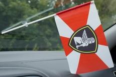Флажок в машину с присоской Северо-западный округ ВВ МВД фото