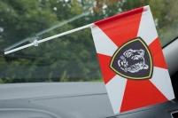 Флажок в машину с присоской Восточный округ ВВ МВД