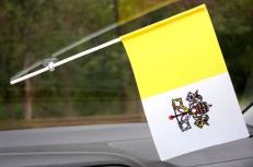 Флажок Ватикана в машину фото