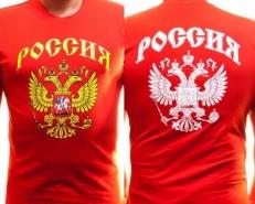 """Футболка """"Россия"""" фото"""