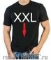 "Футболка стрейч ""XXL"" фотография"